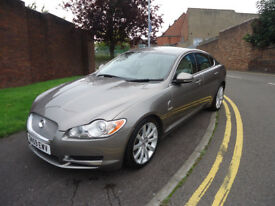 59 PLATE JAGUAR XF PREMIUM LUXURY V6 AUTOMATIC ONLY 61K MILEAGE HPI CLEAR FULLY LOADED CAR