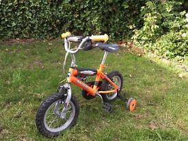 Avigo 12 inch orange bike