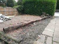 Telegraph poles - good condition - ideal for garden landscaping