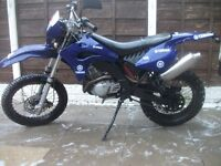 58 plate peugeot xps ct-125 has mot starts and rides great