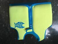 Zoggs swim jacket age 2-3
