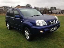 Nissan X-Trail 2.2DCI SVE With full black heated leather & built in SAT NAV