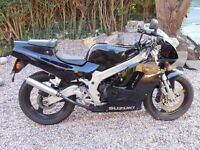 Suzuki Rg 125 1996 2 Stroke Retro Collectible Like Aprilia rs Cagiva Mito