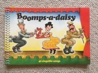Boomps-a-daisy Music Song Book