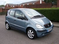 2002 MERCEDES BENZ A CLASS , 1.4 MANUEL ,ONLY 33000 MILES , FULL BENZ DEALER HISTORY , 2 KEYS , MOT