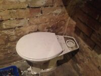 White toilet for sale
