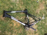 GT bike frame. Avalanche 3.0 Size L. Few scratches wear and tear. Super light. £50