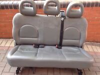 CHRYSLER GRAND VOYAGER BENCH SEAT LEATHER