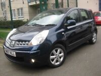 NISSAN NOTE 1.4 ≠≠≠≠ 2007 CHEAP TO TAX RUN AND INSURE ≠≠≠≠ 5 DOOR HATCHBACK