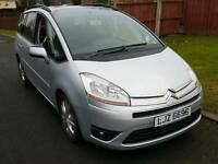 2007 automatic Citroen C4 grand Picasso vtr plus hdi 7 seater full year mot