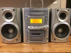 Panasonic CD stereo system SAPM11