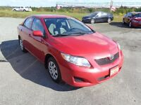 2010 Toyota Corolla CE C package only $108 bi-weekly!