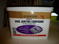 20kg NEW Tub of Cementone Wide Jointing Compound