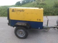 Compair C42 Diesel Compressor 150 CFM @ 100 Psi Deutz Engine 2223 Hours Run
