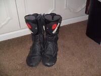 Sidi Motorcycle Boots (Size 12 Mens)