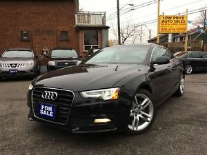 2013 Audi A5 2.0T,Navagation,PanoramicRoof,HtdSeats,Bluetooth&A