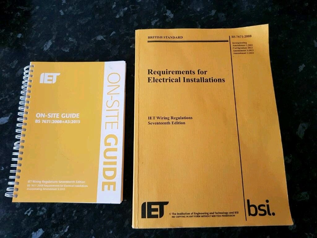 Latest 17th Edition Wiring Regulations Book Iee Amendment 1 Inspection Testing And