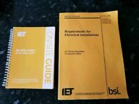 17th edition wiring regulations books includes on site guide