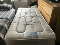 Single 2 drawer divan bed