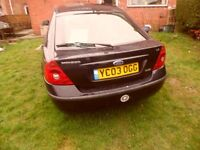 Ford mondeo boot lid