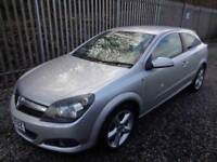 VAUXHALL ASTRA 1.8 SRI 2006 3 DR HATCHBACK SILVER 68,000 MILES FULL SERVICE H...