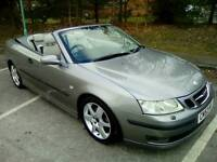 SAAB 9-3 2.0t Convertible 175bhp. LOW LOW ONLY 93,000 MILES
