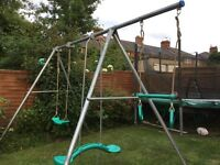 Swing Frame, TP Double wth Extension Bar