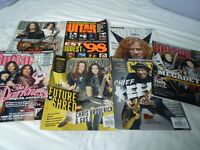 GUITAR WORLD GUITAR ONE MAGS X7-LOADS OF TAB-EXTREME -POLICE -FOO FIGHTERS-HENDRIX