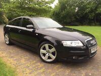 2007 Audi A6 2.0 Diesel S Line Automatic 7 gears 18 Inch Alloy wheels Xenon lights DRLS Long mot