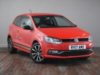 VOLKSWAGEN POLO 1.2 TSI BEATS 3DR (red) 2017