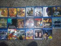 Bundle Blu Ray DVDs