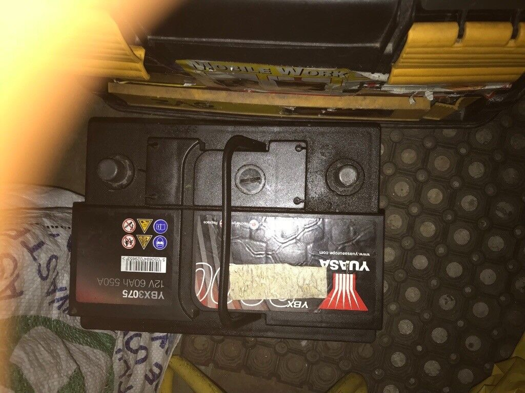 Battery yuasa 12v 60ah 550a