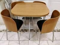 Modern IKEA 4 Seater Breakfast Table