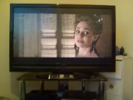 """42"""" hd TV with freeview built in"""