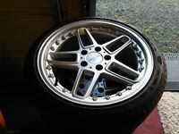 "BMW 18"" AC Schnitzer Type Alloys with Excellent Set of Goodyear Eagle F1 Tyres"
