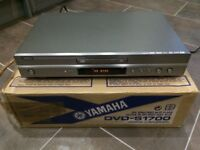 Yamaha DVD-S1700 dvd/cd/super audio cd player - excellent condition, boxed with remote and manual.