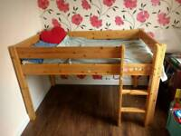 High quality solid wood Cabin bed, kids bed, mid sleeper, child bed