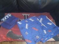 Boys WWF bedding and curtains
