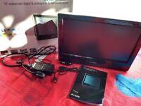 Avtex L163DR tv/dvd combi /Freeview/12v/mains