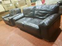 2 + 3 leather suite
