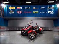 SPMZ-SSR 300cc ROAD LEGAL QUAD BIKE-FREE DVLA REG, ROAD TAX, SPMZ-OPTIONAL-EXTRA & FREE UK DELIVERY!