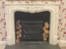 Fireplace Surround / Mantelpiece - Cream