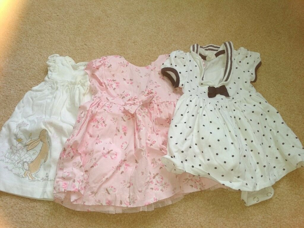 d0581ed1f91a Large (40+ items) bundle baby girl clothes 0-3 months newborn