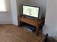 SMALL SOLID PINE TABLE - NEAR LEEDS CITY CENTRE