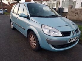 2008 Renault Grand Scenic 1.6- 7 SEATER- Low Miles- EXCELLENT CAR
