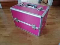Bright pink Vanity case