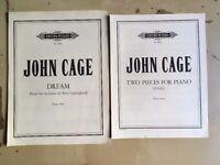 John Cage - 20th Century Piano Scores - Dream / Two Pieces (1946)