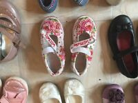 Girls shoes -8 pairs size 8