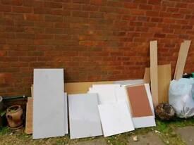 Firniture boards/ kichen installation leftovers