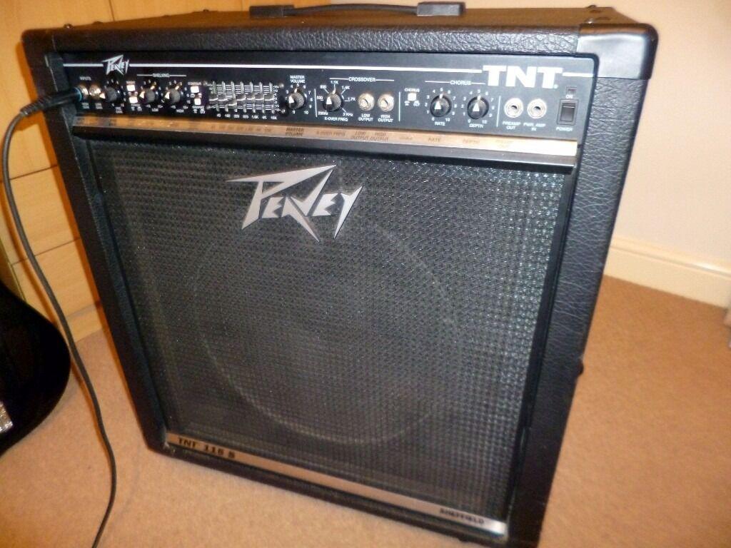 peavey tnt 115 s 150w bass amp in north walsham norfolk gumtree. Black Bedroom Furniture Sets. Home Design Ideas